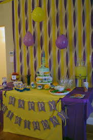 Background Decoration For Birthday Party At Home Best 25 Tangled Party Decorations Ideas On Pinterest Tangled