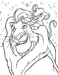 simba coloring page free printable simba coloring pages for kids