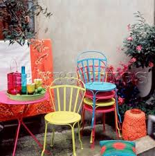 Top  Best Garden Furniture Uk Ideas On Pinterest Brown - Colorful patio furniture