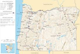 Map Of Washington Cities by Oregon State Map With Cities Blank Outline Map Of Oregon