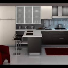 modern kitchen design gallery with red elegant chair furniture and modern kitchen design gallery with red elegant chair furniture and white simple counter table sets plus