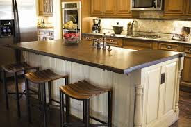 furniture saddle kitchen island stools with corian countertop and