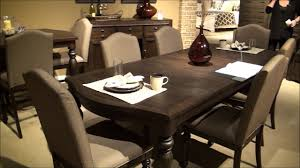 catawba hills leg dining room set by liberty furniture youtube