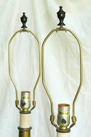 Candlestick Lamp by Stiffel Lamps Barley Twist Heavy Brass Candlestick Lamp Pair