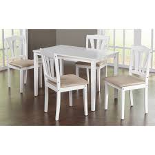 Five Piece Dining Room Sets Metropolitan 5 Piece Dining Set Multiple Colors Walmart Com