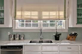 Green Tile Backsplash by Contemporary Kitchen Backsplash Contemporary Kitchen