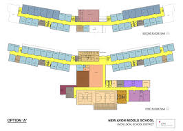 East Wing Floor Plan by Potential Floor Plan For New Avon Middle Unveiled At Forum