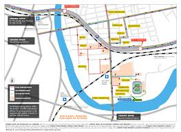 Chicago Parking Map by Transportation Hub General Parking Map New York Red Bulls