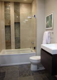 slate glass and travertine tile all in one shower thetileshop