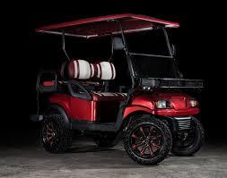 phantom burgundy college edition golf cart excessive carts we ship