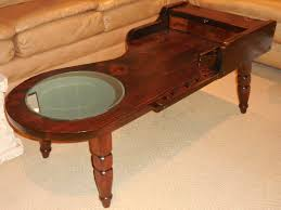 Repurposed Coffee Table by Reclaimed Cobbler Table Coffee Table With Mirror Primitive