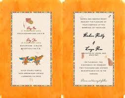 Card Invitation South Indian Kalamkari Inspired Wedding Card Inside Indian