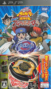 Torrent Super Compactado Beyblade PSP