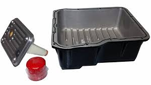 amazon com mag hytec transmission pan 01 12 chevy silverado u0026 gmc