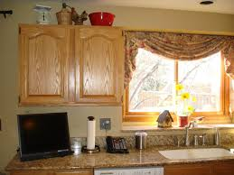 kitchen large curved kitchen window design ideas with white