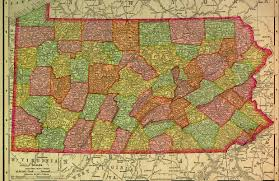 Map Of Pennsylvania And New Jersey by Historical Maps Of Pennsylvania