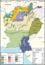 Pakistan On The Map Afghanistan And Pakistan Ethnic Groups National Geographic Society