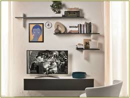 wall mounted component shelves wall mount component shelf home design ideas