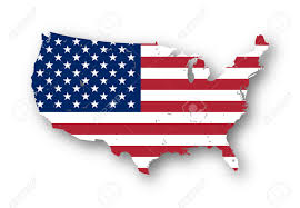 Map Of The Usa by High Resolution Map Of The Usa With American Flag You Can Easily