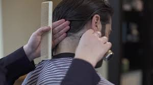 Trimmed Hairstyles For Men by How To Trim Sideburns And Neck Hair On Men U0027s Long Hair Youtube