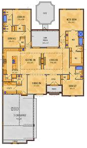 european southern house plan 41505 level one sweet floor plans