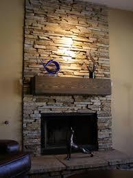 stack stone fireplace surround u2026 pinteres u2026