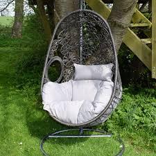 Macrame Hammock Chair Macrame Hanging Egg Chair
