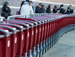 target july black friday target reports much stronger holiday results than walmart