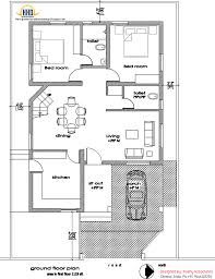 single floor house plan sq ft kerala collection with home design