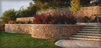 Walls Outdoor Living Kits Pavers  Hardscape Products - Landscape wall design