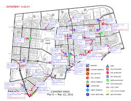 Crime Map By Zip Code by Nopd 3rd District Crime Map March 12 2011 Nola Com