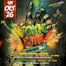 halloween city toxic city halloween rave tickets the backstage live on october