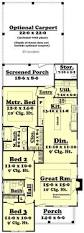 Houses With 2 Master Bedrooms Best 25 Narrow House Plans Ideas That You Will Like On Pinterest