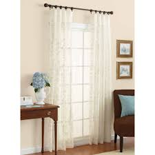 curtains home decor better homes and gardens embroidered sheer curtain panel walmart com