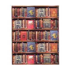 christmas bookshelf advent calendar bodleian shop