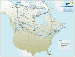 Carrier Route Maps by First Air World Airline News