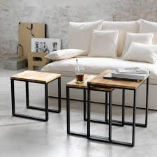 Table Basse Industrielle Pas Cher by Table Basse Gigogne Lot De 3 Hiba Salons Tables And Living Rooms