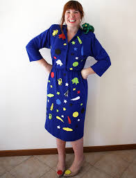 blue halloween costume last minute halloween ms frizzle from the magic bus