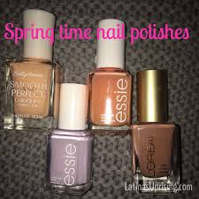 bright colors conservative office nail polishes for spring