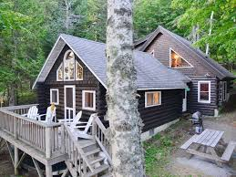 log cabin on north shore of beautiful homeaway rangeley