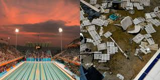 what old olympics venues look like today abandoned olympic venues