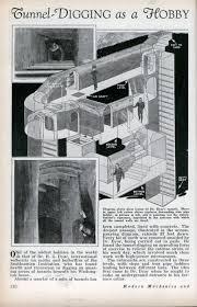 tunnel digging as a hobby modern mechanix