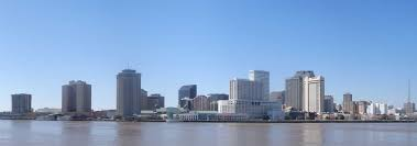 New Orleans Downtown Map by Google Map Of New Orleans Louisiana Usa Nations Online Project