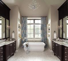 old world style bathroom farmhouse with stall shower foot tub faucets