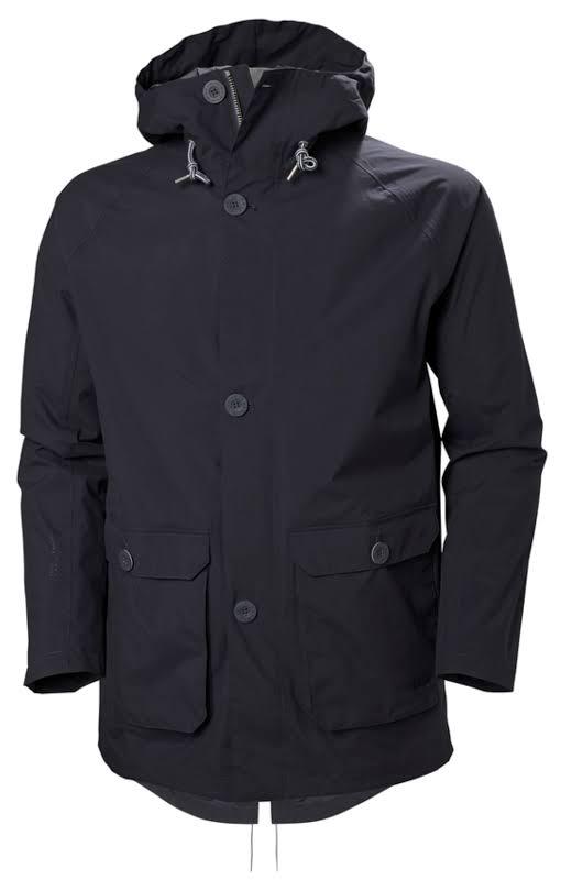 Helly Hansen Tsuyu Rain Coat Graphite Blue Small 53283-994-S