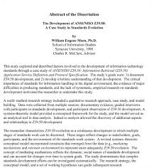 The Dissertation Abstract   What It Is and What It Accomplishes Research Papers Dissertations Abstracts   Wikipedia  the free encyclopedia