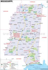 Blank Map Of The United States Of America by Map Of Mississippi Mississippi Map Ms