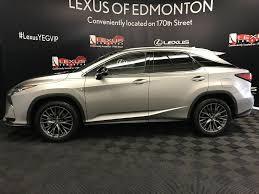 lexus atomic silver new 2017 lexus rx 350 4 door sport utility in edmonton ab l13777
