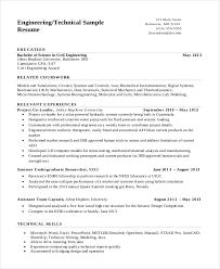 civil engineering resume examples nobby design ideas engineering resume templates 11 field engineer