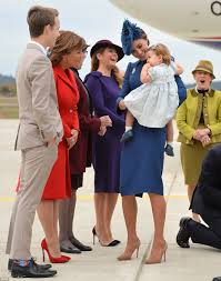 kate middleton prince william and their kids land in canada for